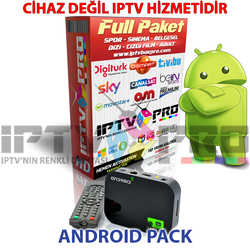 12 aylık android tvbox iptv server